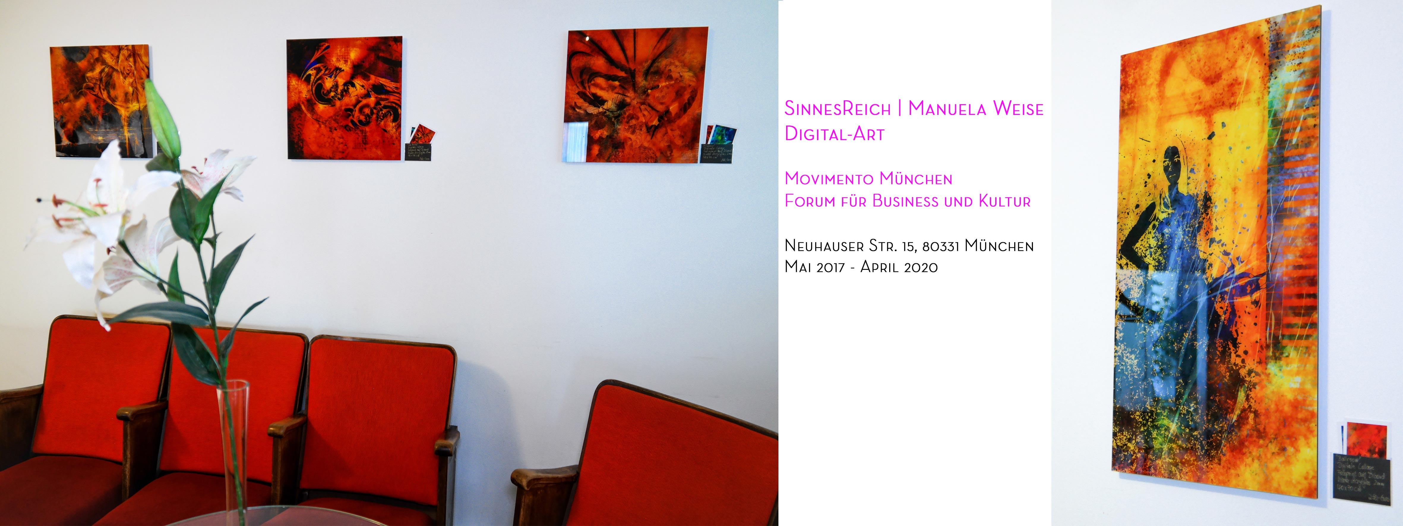 Ausstellung MOVIMENTO München | Zentrum für Business und Kultur